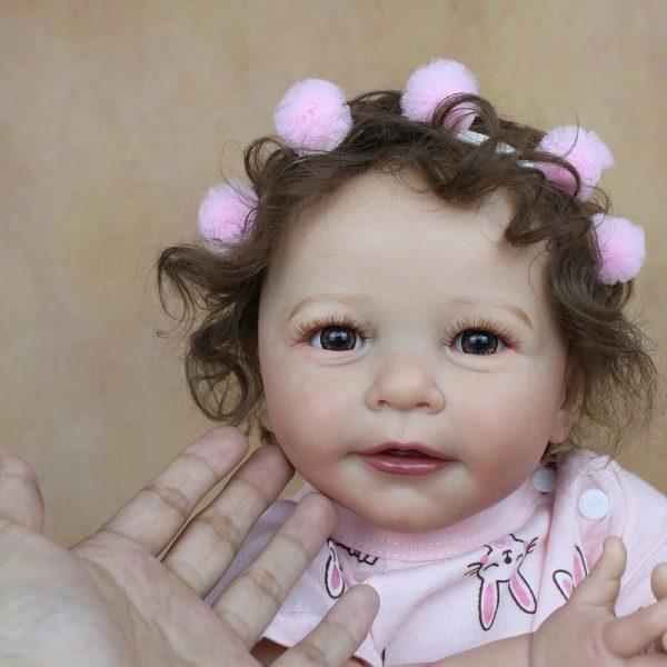 fille bébé reborn 55 cm