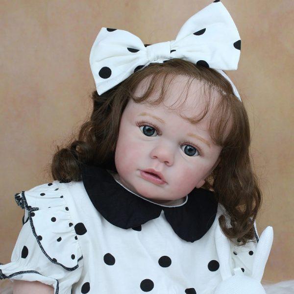 poupée reborn fille 60 cm