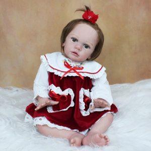 poupée reborn fille réaliste